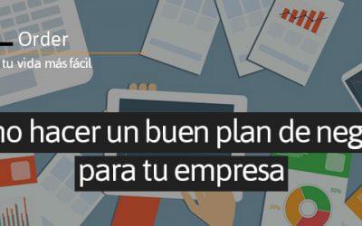 Como hacer un buen plan de negocio para tu empresa